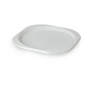 Horeca Select Plastic lunchbord vierkant 100 stuks