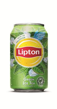 Lipton Ice Tea Green blik 24 x 33 cl