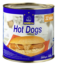 Horeca Select Hot Dogs 32 x 50 gram