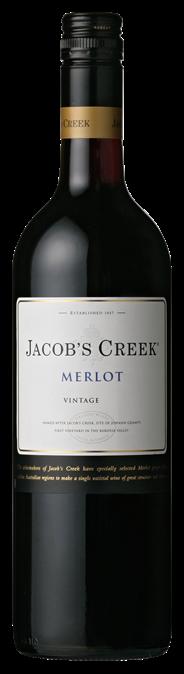 Jacob's Creek Merlot 6 x 750 ml