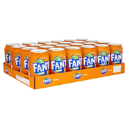 Fanta Orange blik 24 x 33 cl
