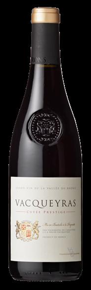 Cuvée Prestige Vacqueyras Rouge 750 ml