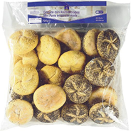 Horeca Select Mini mix keizerbroodjes 20 x 35 gram
