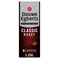 Douwe Egberts Cafitesse Koffie Classic Roast Utz 1,25l Pak
