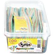 Katja Regenboogmatjes 200 stuks