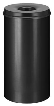 Vepa Bins Vlamdovende papierbak 50 liter zwart