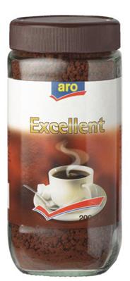 Aro Oploskoffie Excellent 200 gram