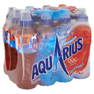 Aquarius Red peach 12 x 500 ml