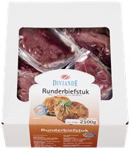 Biefstuk rundvlees 12 x 175 gram (diepvries)