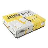 Jalema Clip Papierbinders geel/wit 100 stuks