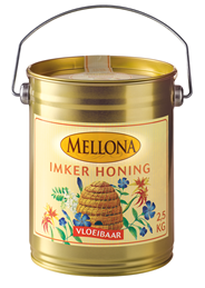 Mellona Imker honing 2,5 kg