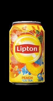 Lipton Ice Tea Peach blik 24 x 33 cl
