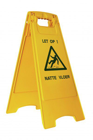 Vero Veiligheidsbord geel 7037