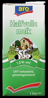 Aro Halfvolle melk 12 x 1 liter