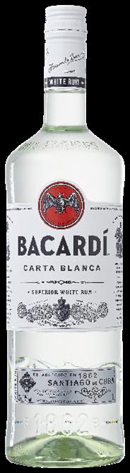 Bacardi Carta blanca 6 x 1 liter