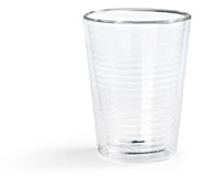 Hovac Dubbelwandig glas lungo 25 cl 2 stuks
