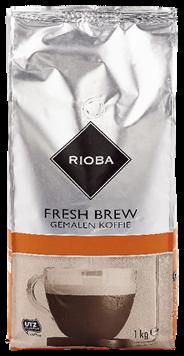 Rioba Rood Fresh Brew koffie 1 kg