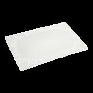 Horeca Select Taartrand rechthoekig 20 x 30 cm wit 250 stuks