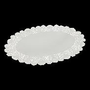 Horeca Select Taartrand ovaal 22 x 32 cm wit 250 stuks
