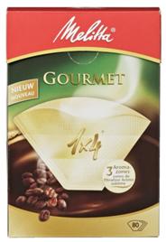 Melitta Filterzakjes Gourmet 1x4 4 x 80 stuks
