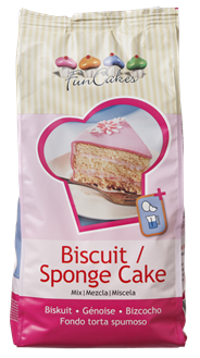 Funcakes Mix voor biscuit 1 kg