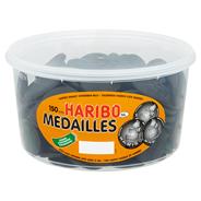 Haribo Drop medailles 150 stuks