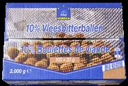 Horeca Select Vleesbitterballen 10% 100 x 20 gram