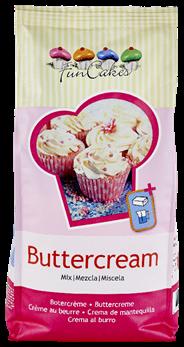 Funcakes Mix voor Botercrème 1 kg
