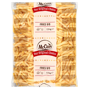 McCain Frites original 3/8 9mm 5 x 2,5 kg