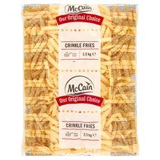 McCain Crinkle Fries 2,5 kg