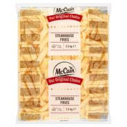McCain Steakhouse frites 9/18 2,5 kg