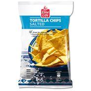 Fine Life Tortilla chips gezouten 200 gram