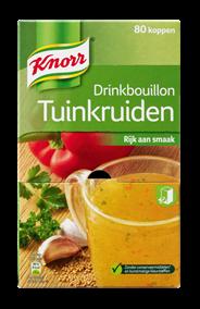 Knorr Tuinkruiden drinkbouilon 80 zakjes