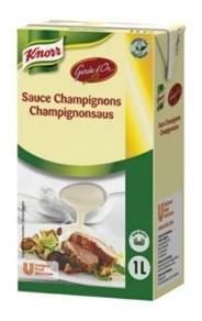 Knorr Garde d'Or Champignonsaus 1 liter