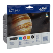 Brother LC-1240BKCMY Inktcartridge multipack
