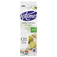 Optimel Drinkyoghurt limoen 1 liter