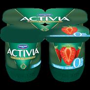 Activia Yoghurt aardbei 0% vet