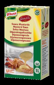 Knorr Garde d'Or Mosterdsaus 1 liter