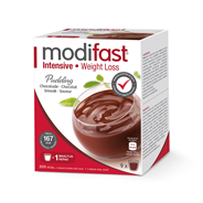 Modifast Intensive Pudding chocolade 9 x 42 gram