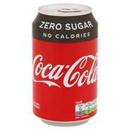 Coca Cola Zero blik 330 ml