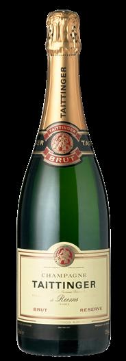 Taittinger Champagne Brut Reserve 6 x 750 ml