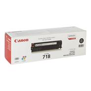 Canon 718BK Toner cartridge zwart