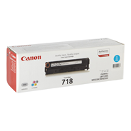Canon 718C Toner cartridge cyaan