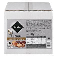 Rioba Biscuit 6mix 150 stuks
