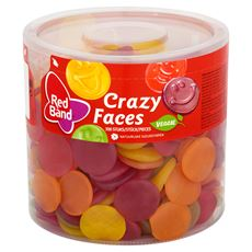 Red Band Crazy Faces 300 Stuks 1510 g