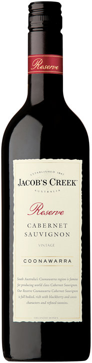 Jacob's Creek Reserve Cabernet Sauvignon 6 x 750 ml