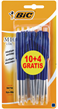 Bic Balpen M10 blauw 10 + 4 gratis