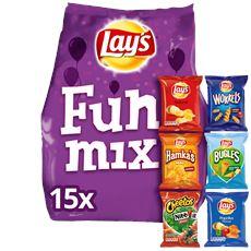 Lay's Funmix 6 soorten 12 x 15 zakjes