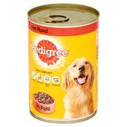 Pedigree Hondenvoer Nat Paté Rund Blik 400 g