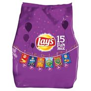 Lay's Mixed Snack 15Packs Funmix 6varia 357g - Mixpack